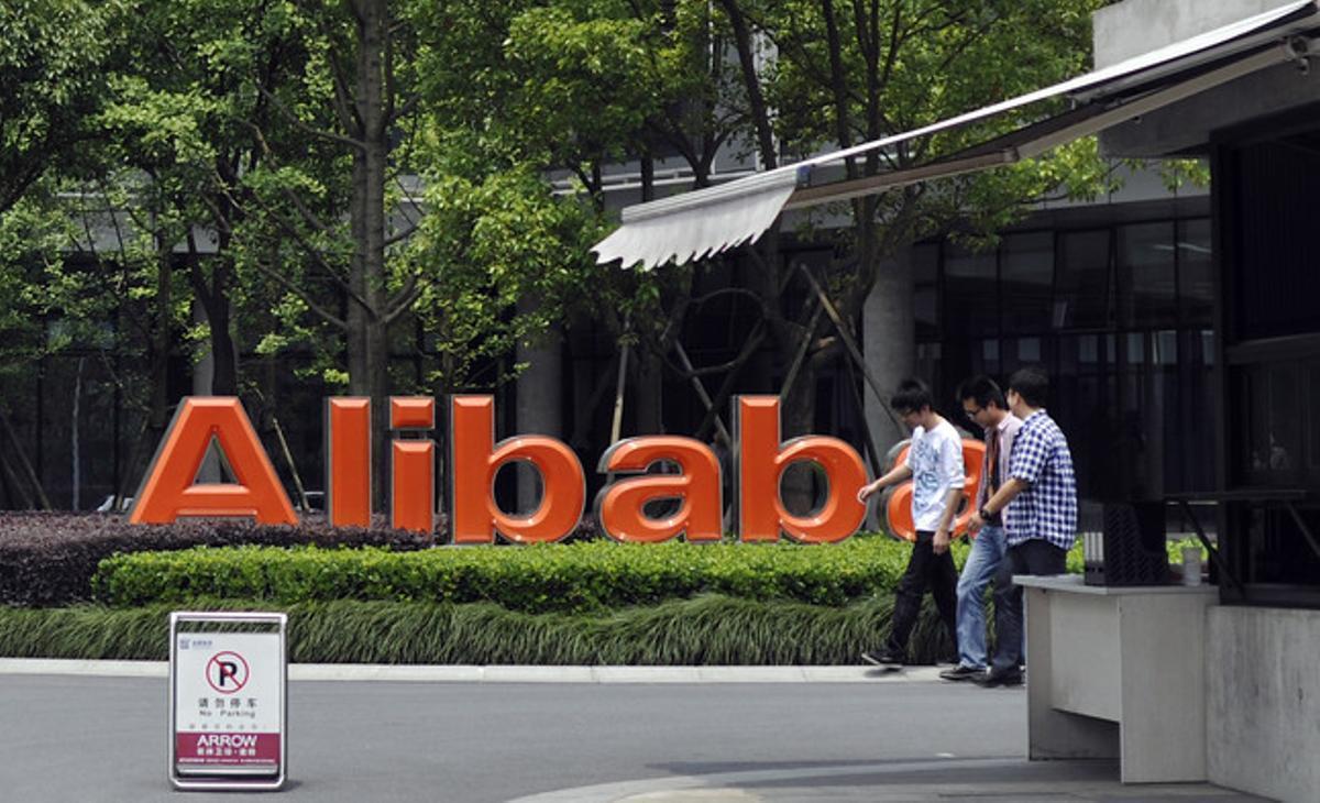 Exteriores de la sede central de Alibaba en Hangzhou.