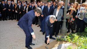 La UB rendeix homenatge a les víctimes de l'accident de Freginals