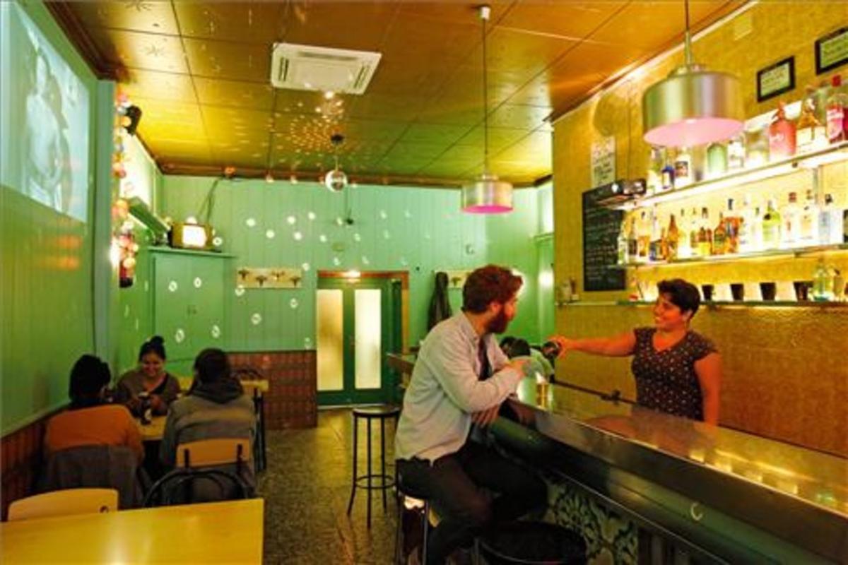 El bar Olímpic del Raval.
