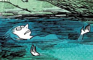 Viñeta de 'La levedad', el cómic en el que Catherine Meurisse exorciza el trauma de la masacre de 'Charlie Hebdo', de la que se libró de milagro.