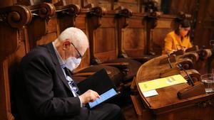 ERC ensenya les dents al govern de Colau per la part del PSC