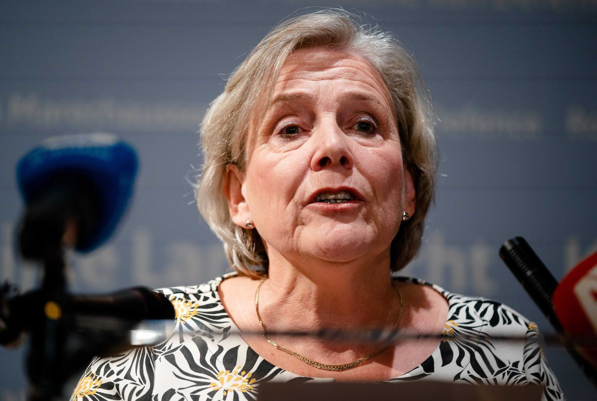 La ministra de Defensa de Países Bajos, Ank Bijleveld.