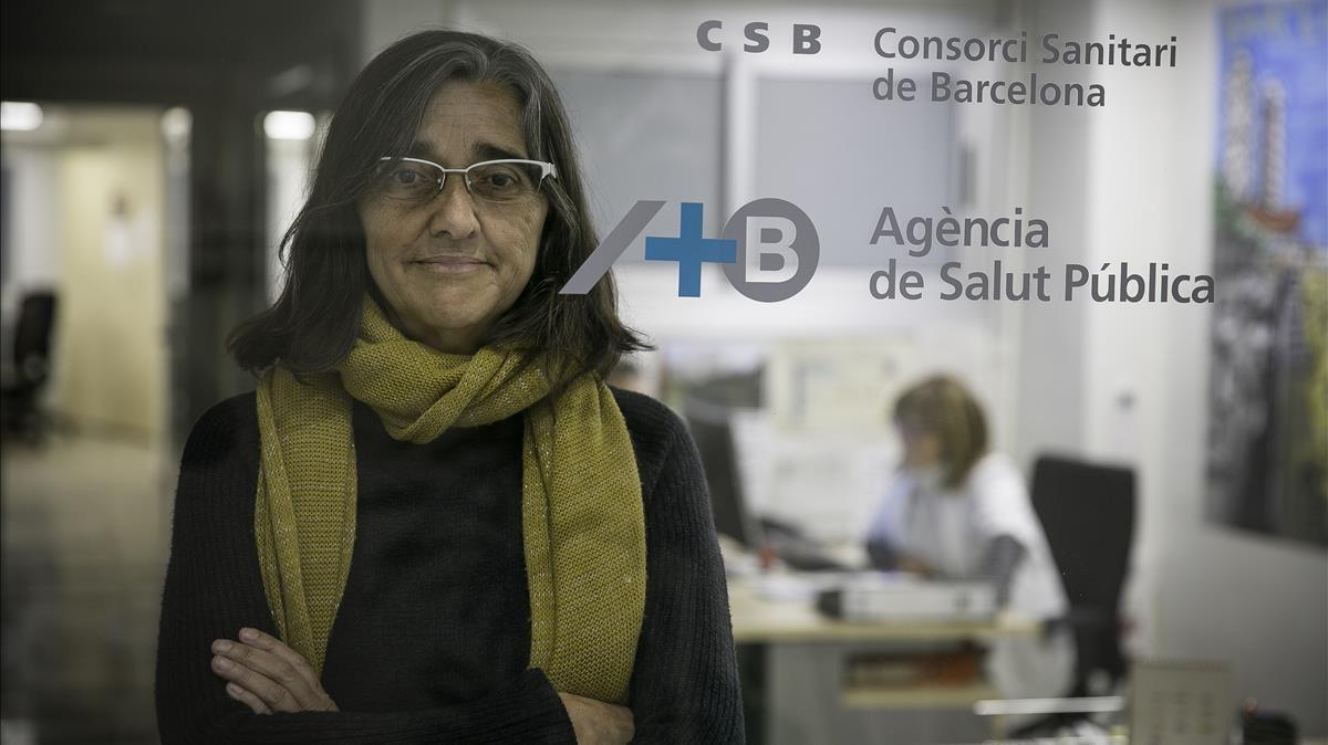 Carme Borrell, gerente de la Agència de Salut Públicade Barcelona.
