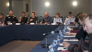 Reunión de la mesa de seguridad en Parets del Vallès.