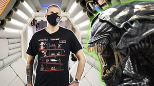 Visita la nau espacial d''Alien' a Barcelona
