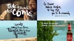 Eslogans de la campaña 'Mediterráneamente'