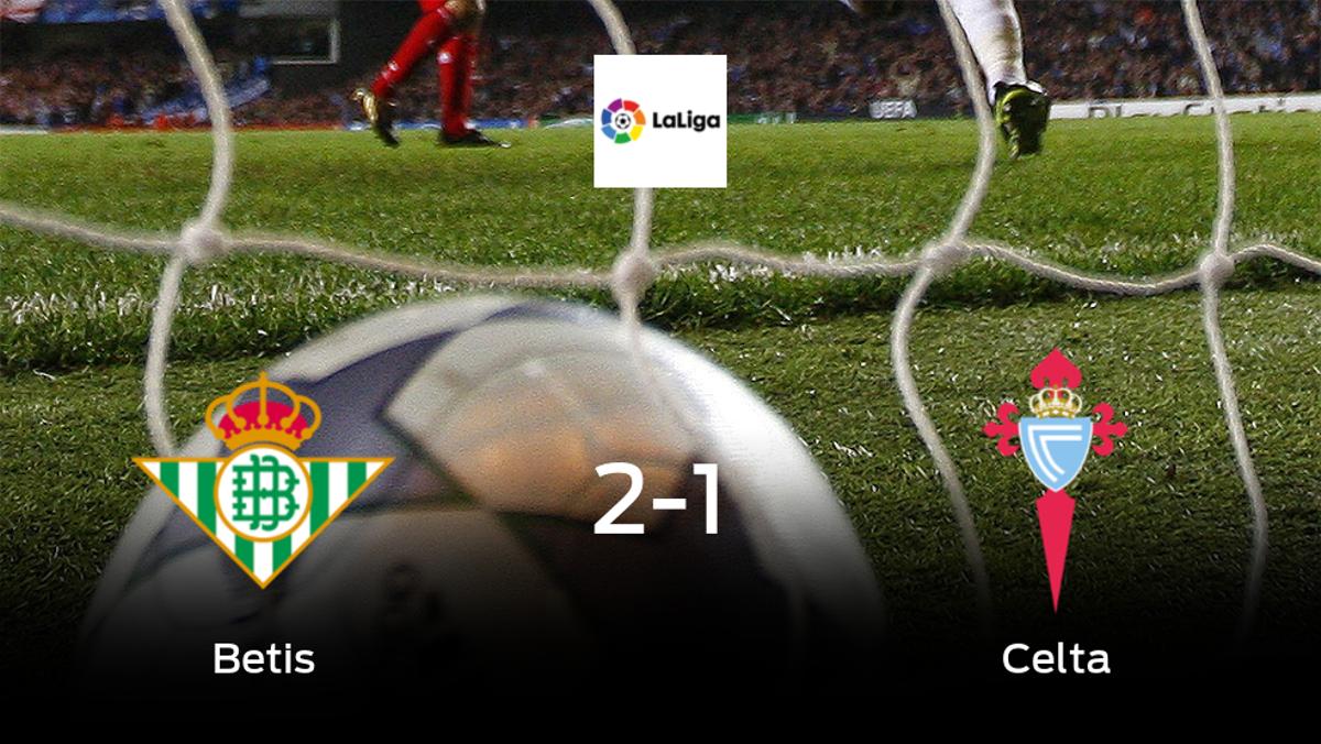 Triunfo 2-1 del Real Betis frente al Celta