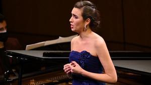 La soprano Carmen Artaza, ganador del Concurs Internacional de Cant Tenor Viñas