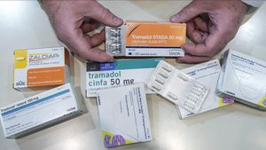 Diferentes fármacos opiodes.