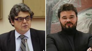 Jorge Moragas y Gabriel Rufián.