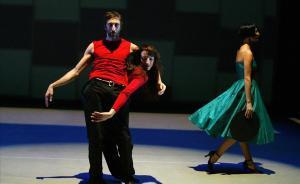 Imagen de archivo de una coreografía de Cesc Gelabert, en elTeatre Lliure.
