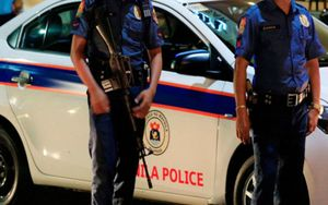 Policías de Filipinas en un operativo de seguridad.