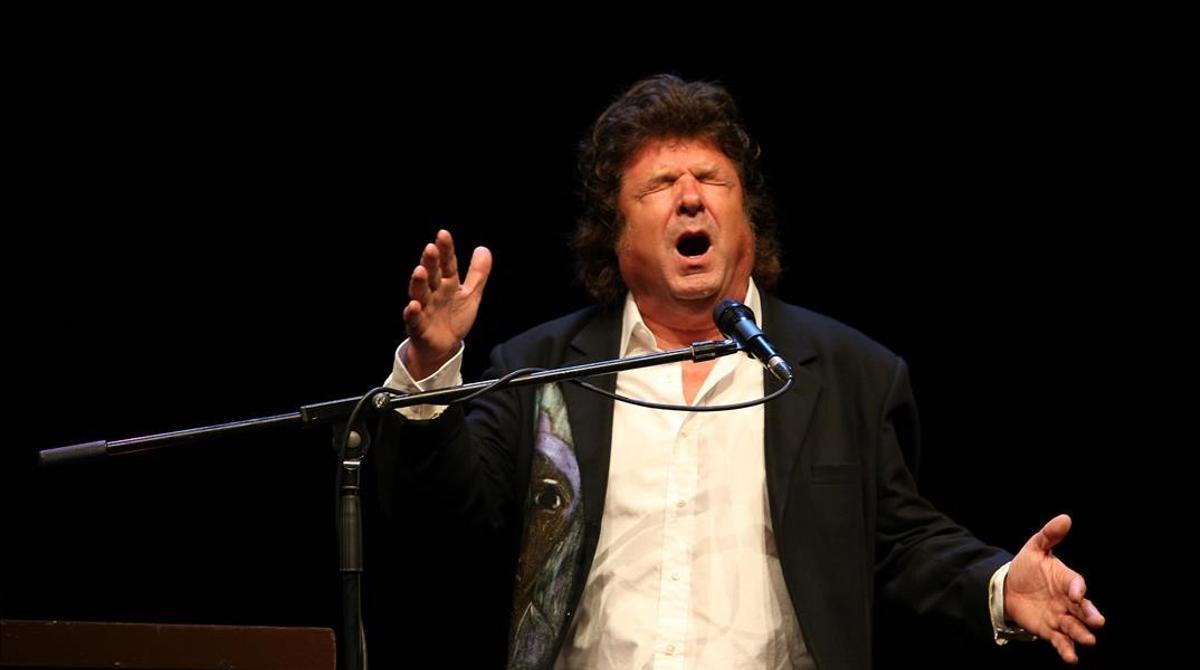 Concierto de Enrique Morente en el Liceu, en el 2010.