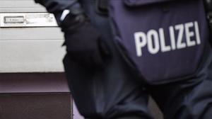 Un agente de la policía alemana.