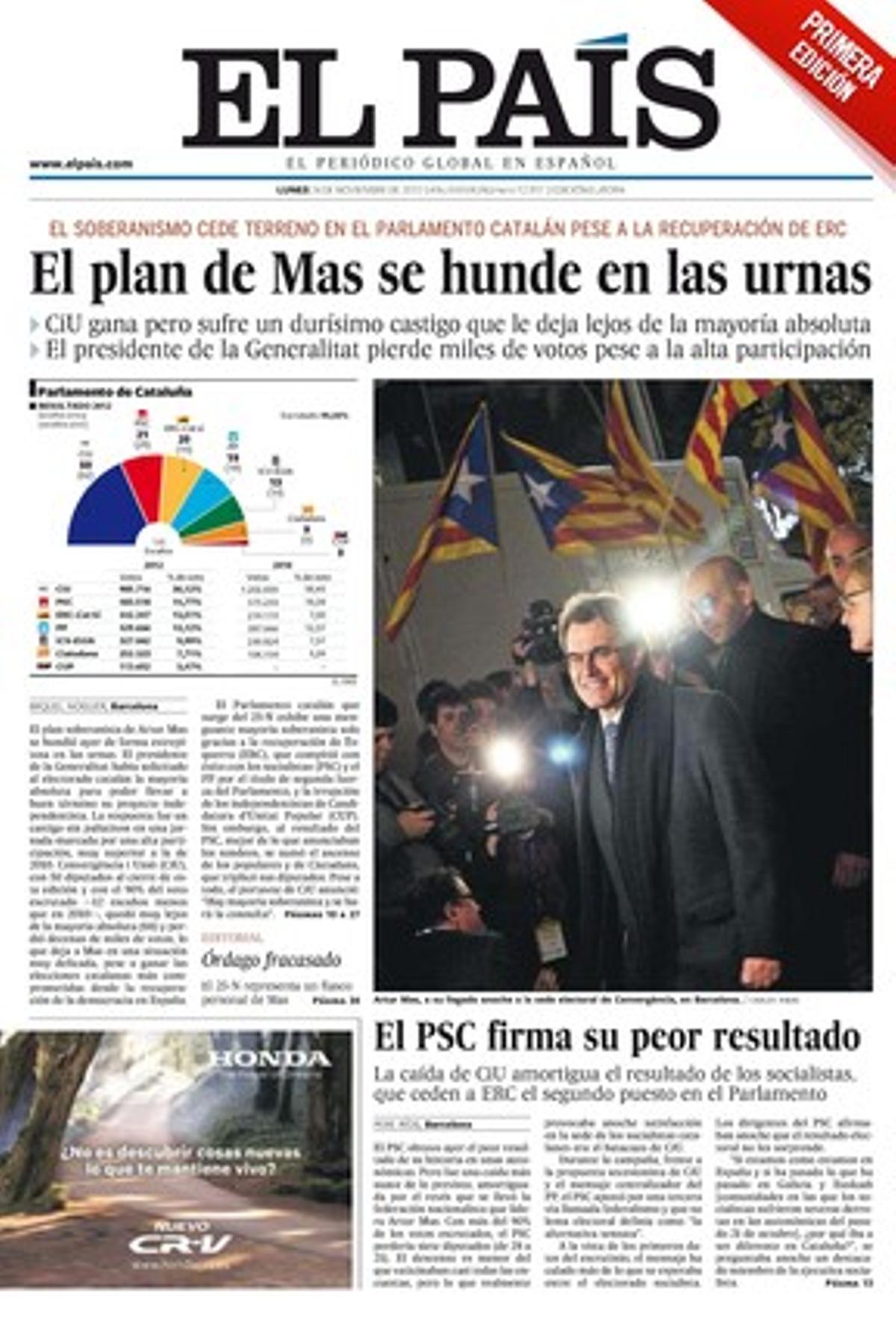 El País, 26-11-2012.