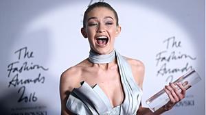 Gigi Hadid, modelo del año