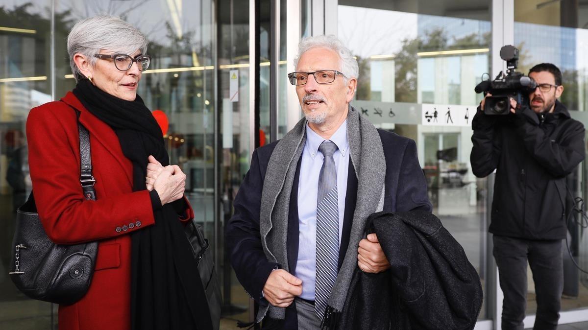 El juez Santi Vidal, el 13 de febrero del 2018