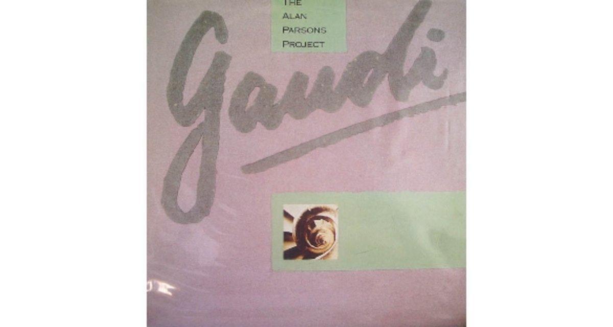 Portada de 'Gaudi' por Alan Parsons Project.
