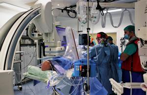 Intervención realizada en el Hospital de Bellvitge de L'Hospitalet.