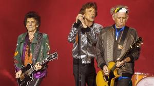 Ron Wood,Mick Jagger yKeith Richards de losRolling Stones tocarán en el Estadi Olímpic el 27 de septiembre.