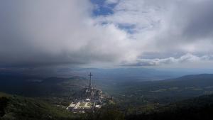 Panorámica del Valle de los Caídos (El Escorial).