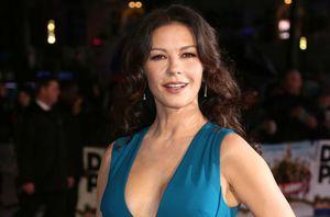 Catherine Zeta-Jones en un estreno, el pasado enero.