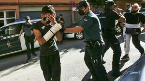 La Guardia Civil detiene al séptimo implicado en la violación grupal de Xàtiva.