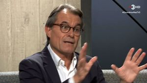 Artur Mas, en 'El divan' de Sílvia Coppulo.