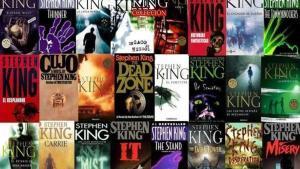 Portadas de algunos de libros delescritor Stephen King.