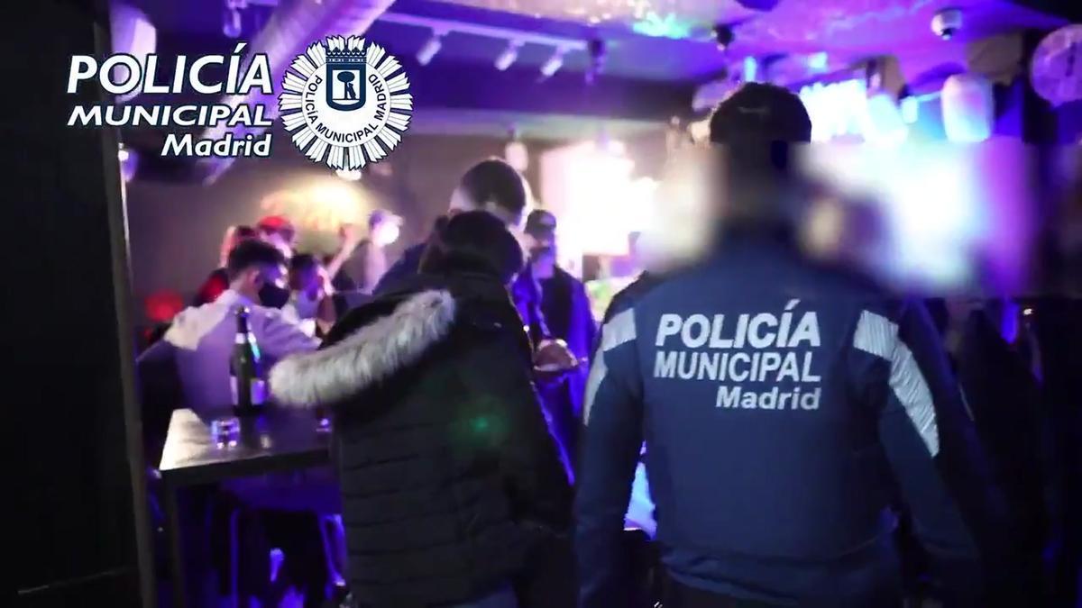 Detectadas 227 fiestas ilegales en Madrid entre la noche del viernes y la del sábado.