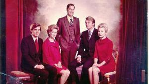 LOS CINCO HERMANOS TRUMP. De izquierda a derecha, Robert (1948), Elizabeth (1942), Fred (1938-1981), Donald (1946) y Maryanne (1937).