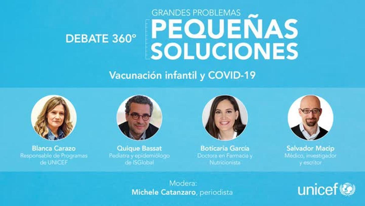 Debate sobre las vacunas en la poblaciín infantil mundial.
