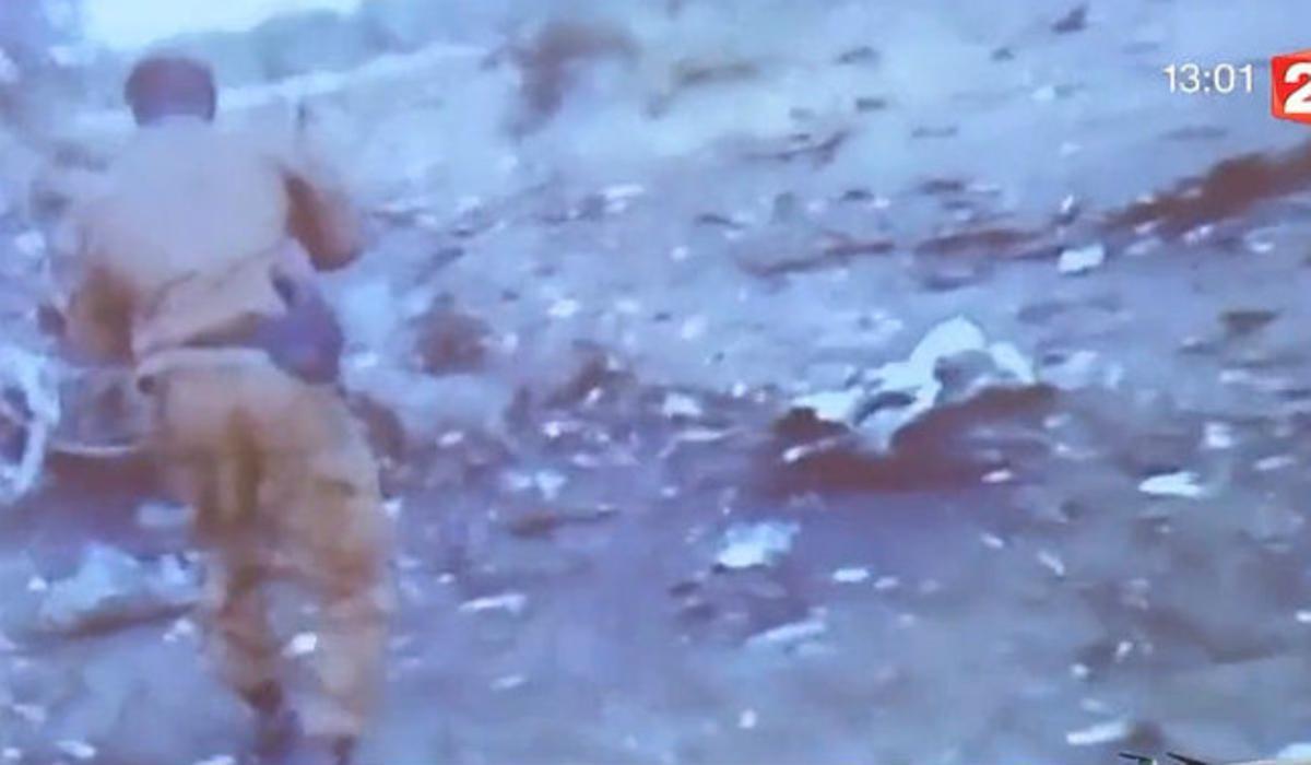 Primeres imatges de les restes de l'avió de Swiftair.