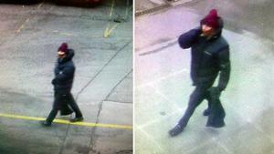 Fotografías difundidas por la policía danesa del sospechoso de los tiroteos de Copenhage.
