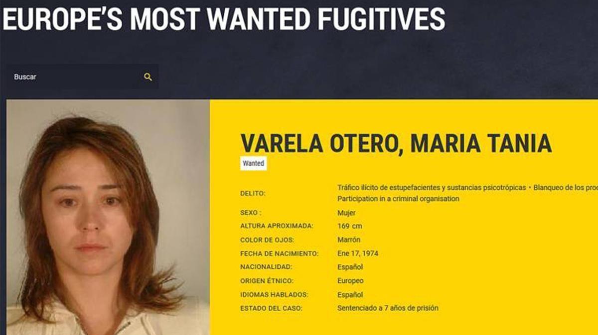 Tania Varela, la última fugitiva del narcotráfico gallego.