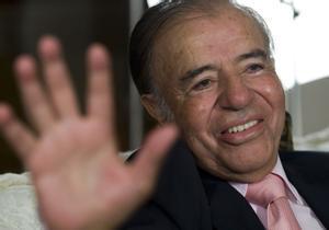 Carlos Menem, en 2009.