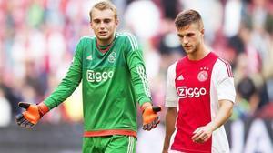 Cillessen, en un partido del Ajax.