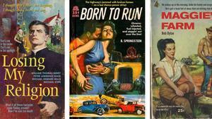 'Losing my religion', 'Born to run' y 'Maggie's farm', tres falsas portadas de Todd Alcott.