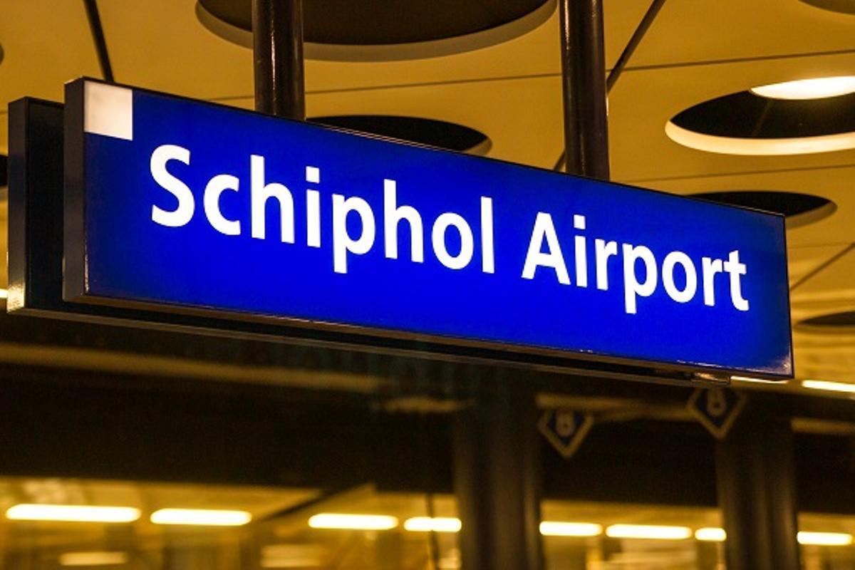 Imagen del aeropuerto de Schiphol, en Amsterdam.