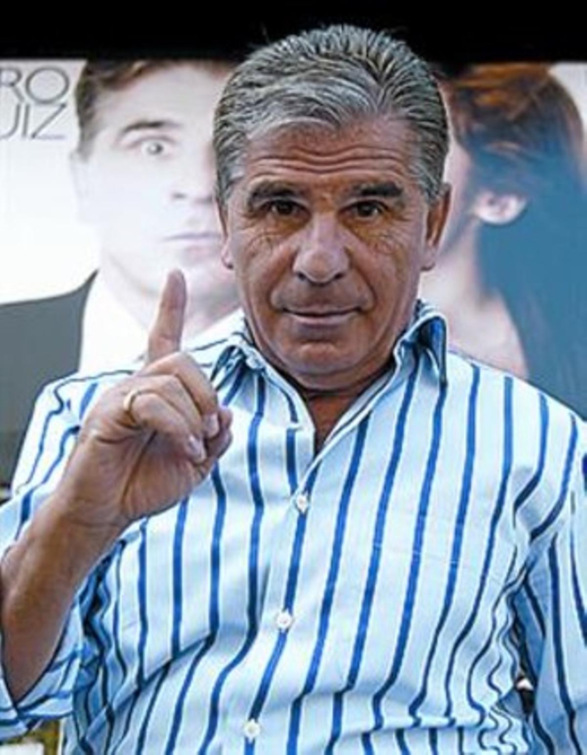 Pedro Ruiz.
