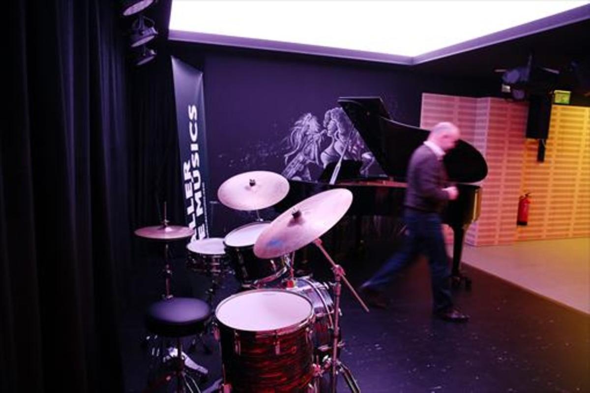 Nuevo local 8 La sala que Taller de Músics ha abierto en Cendra, 24.
