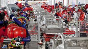 Fábrica de Tesla en Freemont (California)