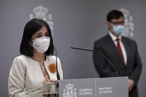 """Carolina Darias seguirá """"la senda trazada"""" por Illa al frente de Sanidad"""