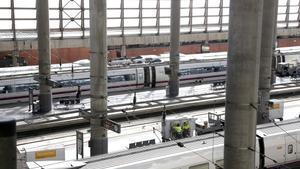 Imagen de archivo de la estación de Atocha en Madrid
