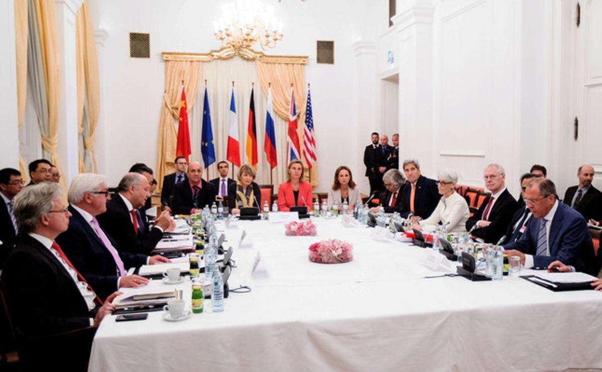 Reunión entre Irán y el Grupo 5+1, el lunes, en Viena.