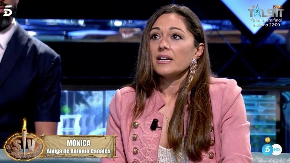Mónica, la defensora de Antonio Canales