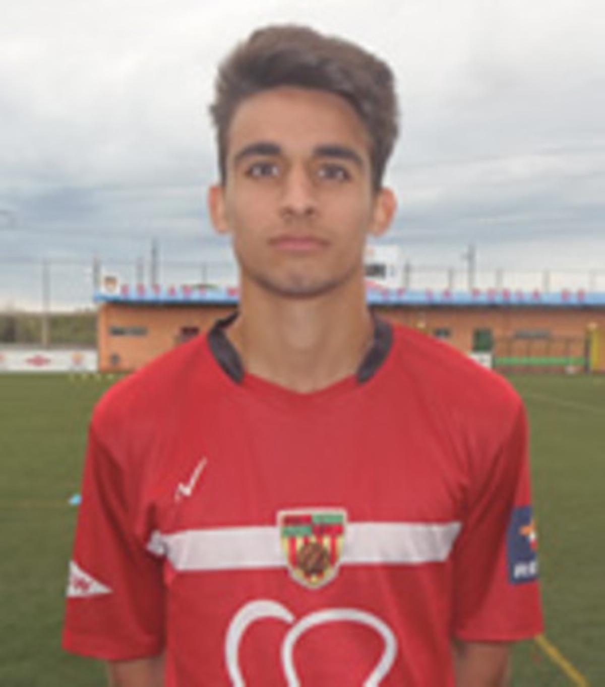 Julio Rey, durante su etapa como jugador del Pobla de Mafumet.