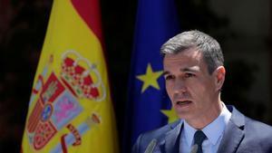 """Sánchez promete """"firmeza"""" y exige a Marruecos """"respeto"""" a las fronteras"""
