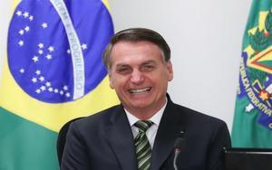 Jair Bolsonaro, el presidente de Brasil.