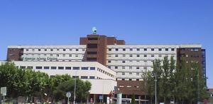 El Hospital Infanta Cristina de Badajoz.